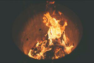 tambo arenero contra incendio