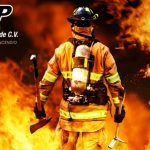 Equipo de bombero CDMX