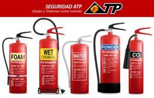 Tipos de extintores en CDMX
